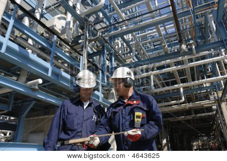 Oil Industry And Engineers