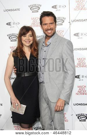 LOS ANGELES - JUN 5: Alyson Hannigan, Alexis Denisof at the screening of Lionsgate and Roadside Attractions' 'Much Ado About Nothing' on June 5, 2013 in Los Angeles, California