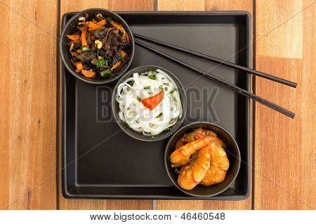Asian Vegetarian Dish