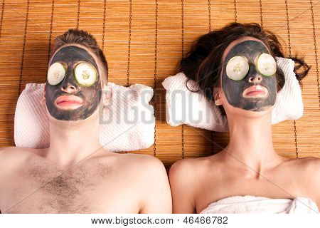 Couples Retreat Facial Mask Spa