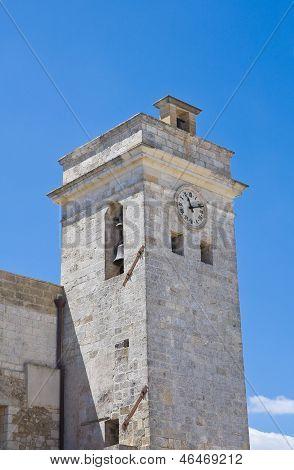 Clocktower. Castro. Puglia. Italy.