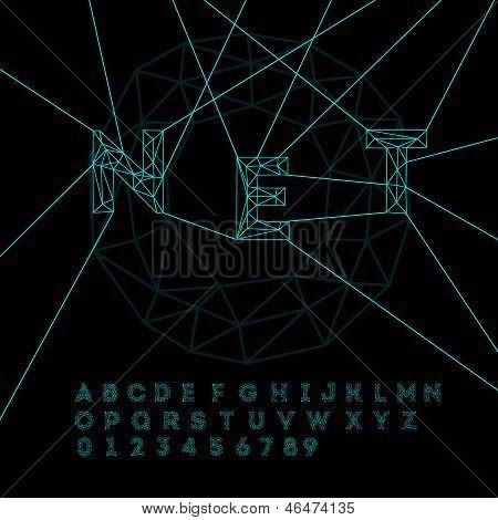 Space technology alphabet