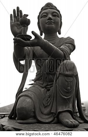 Buddhistic Statue (tian Tan Buddha) On Lantau (Hong Kong).