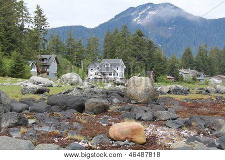 Waterfront Homes near Petersburg Alaska