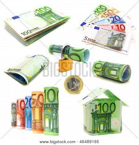 Isolated Euro arrangements