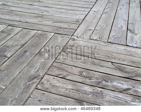 Patterned Boardwalk