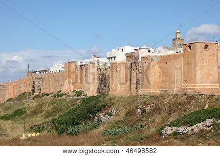 Kasbah Walls In Rabat, Morocco