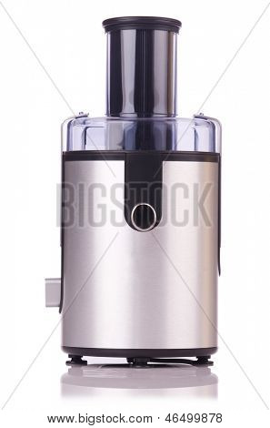 Juice extractor in kitchenware concept