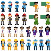 Large Vector Collection of Career and Professional People