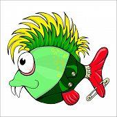 image of mohawk  - fish - JPG