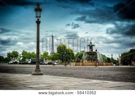 Place De La Concorde. Paris, France