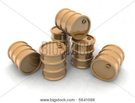 Barriles de oro