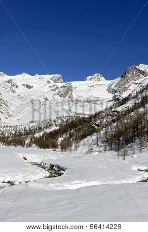 Piani Di Verra And Mount Rosa