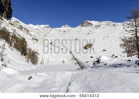 Lago Blu, Ayas-Tal (Norditalien)