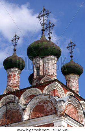 Crosses And Cupolas