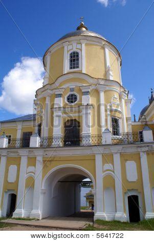 Gate Of Monastery
