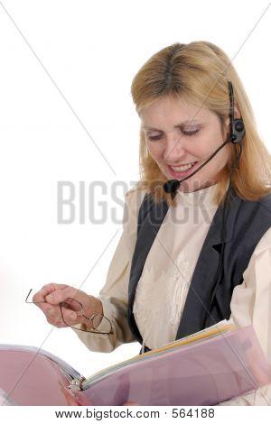 Kunden-Service-Betreiber 7105