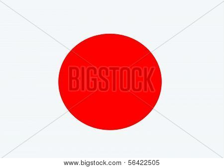 National flag of Japan themes idea design