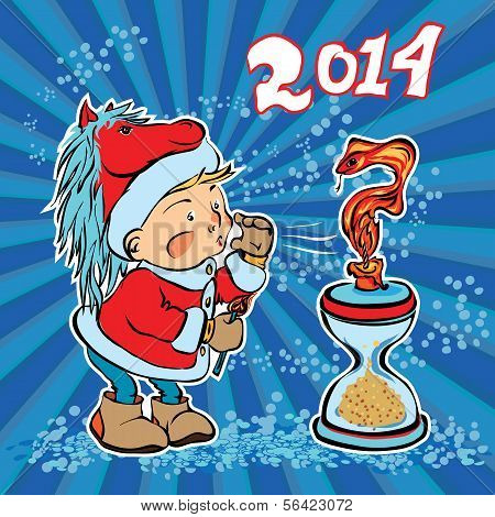 New Year Replaces The Old Year