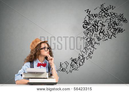 escritor de mulher