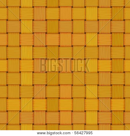 seamless woven wicker rail fence texture
