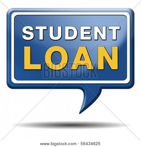 student loan credit application study funding
