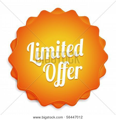 Limited Offer Badge