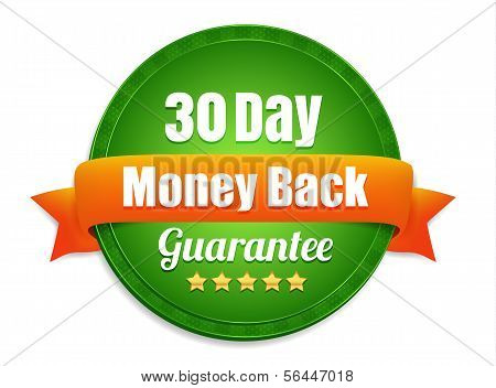 Thirty Day Money Back Guarantee