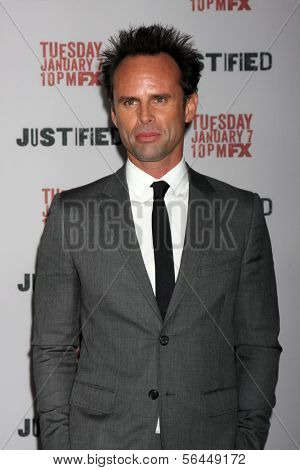 LOS ANGELES - JAN 6:  Walton Goggins at the