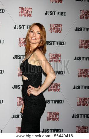 LOS ANGELES - JAN 6:  Alicia Witt at the
