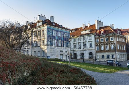 Tenements At Mostowa Street In Warsaw