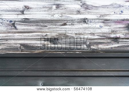 Surface Sheet Metal Painted White Paint Background