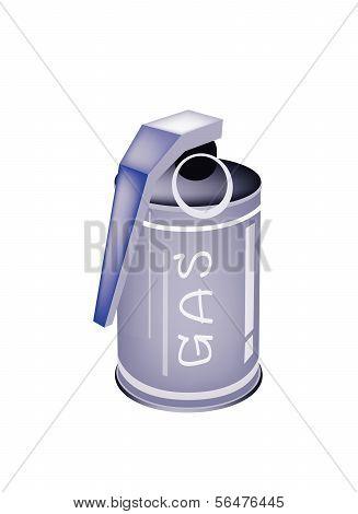 A Tear Gas Grenade