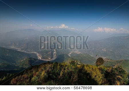 Ramitey View Point, Sikkim, India