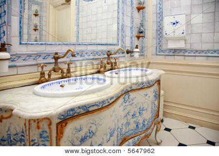 Cuarto de baño Vintage
