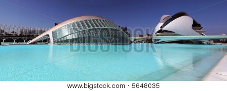 Sciencies And Arts City In Valencia