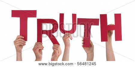 Hands Holding Truth