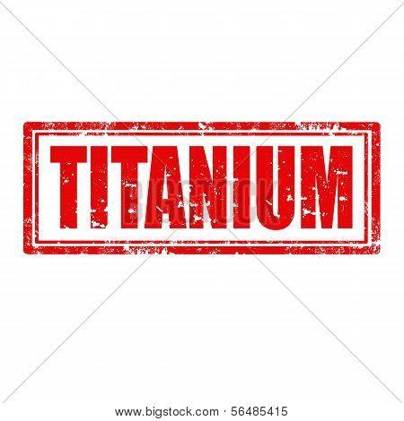 Titanium-stamp