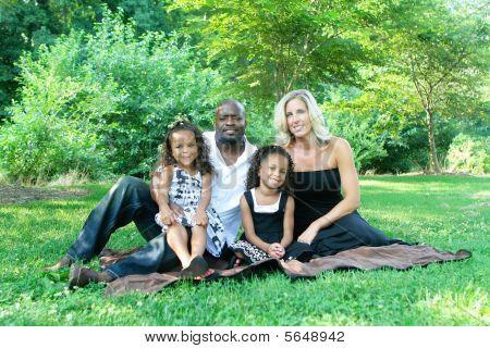 A Mixed Race Family