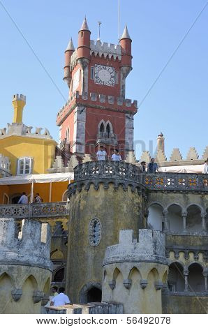 Colorful Palace In Sintra