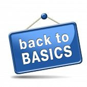 stock photo of primite  - Back to basics to the beginning keep it simple and basic primitive simplicity - JPG