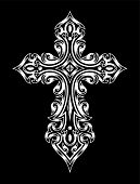 picture of gothic  - fully editable vector illustration  - JPG
