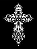 stock photo of art gothic  - fully editable vector illustration  - JPG