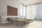 Exclusive Design Bedroom with sea view