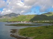 Landscape In The Lofoten Islands