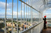 Smith Tower Observation Deck in Seattle