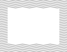 stock photo of chevron  - Gray Chevron Frame Background with center isolated for copy - JPG