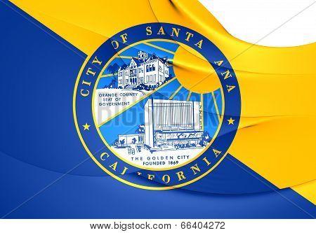 Flag Of Santa Ana