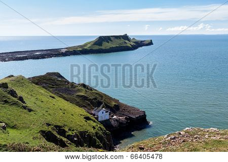 Rhossili Bay Wales Uk