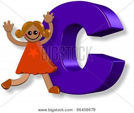 Alphabet C Girl